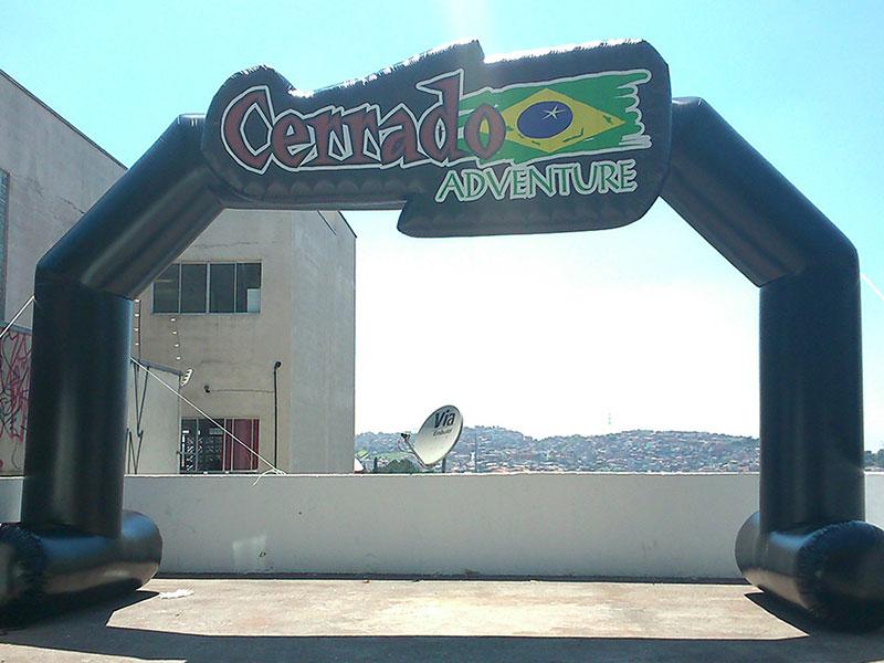 Portal Inflável - Cerrado Adventure