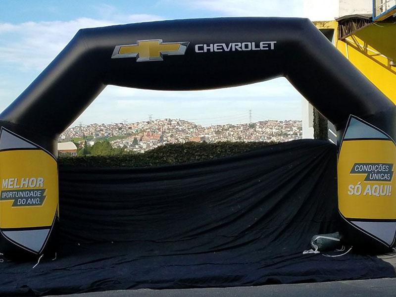 Portal Inflável - Chevrolet