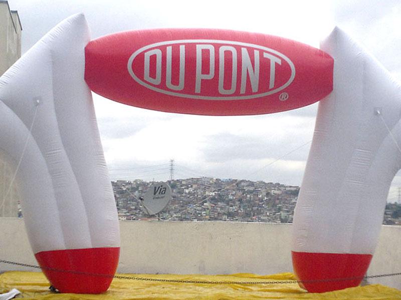 Portal Inflável - Du pont