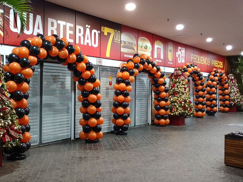Balões Látex - Shopping Metrô Itaquera