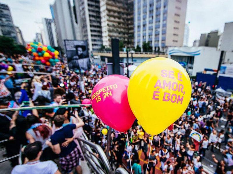 Balão Látex - Skol Parada LGBT