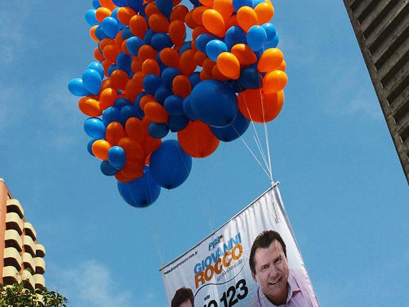 Balão Látex - Políticos
