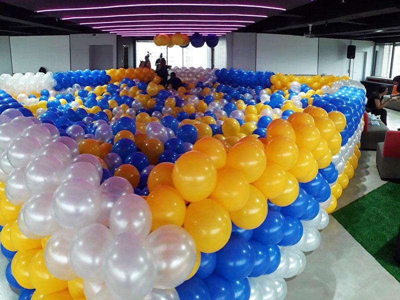 Balões Látex - Piscina de Balões