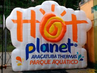 Colchão Inflável - Hot Planet