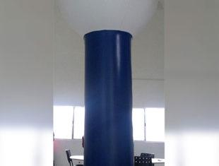 Totem Inflável - Microfone Senai