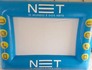Infláveis Interativos - Tela de Projeção - Net