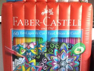 Réplica e Displays Infláveis - Faber Castell