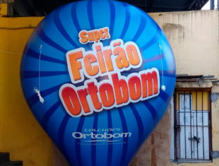 Balão Roof Top - Mega Feirão Ortobom